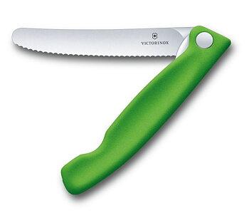 Fällkniv Classic, 11 cm / Tandad / grön