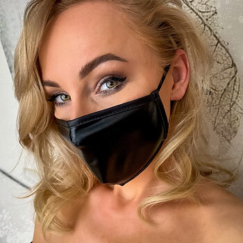 Face Mask - ''Leather''