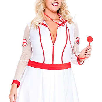 Nurse - Plus Size - Set