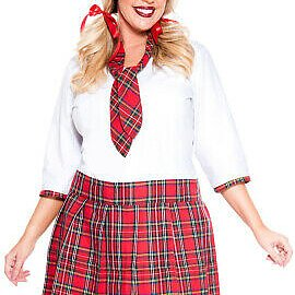 School uniform '' Sexy Nerd '' - Plus Size Set