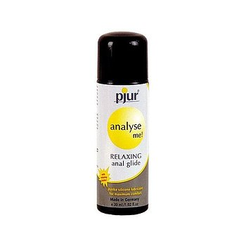 Pjur Silicone Lubricant Anal Glide - 30ml