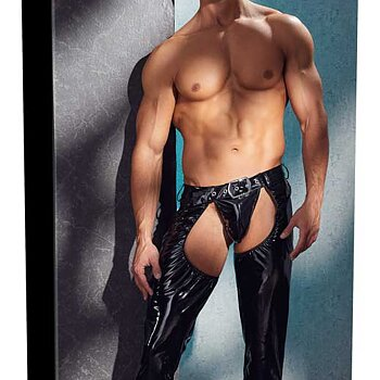 Chaps with G String - Men's
