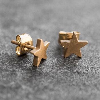 Örhänge Älskad stjärna guld