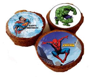 Spiderman,Superman,Hulken