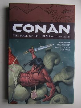 Conan Vol 4 The Hall of the Dead Hardcover