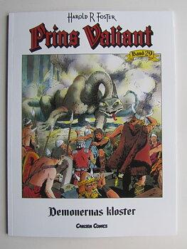 Prins Valiant Carlsen Comics 29 Demonernas kloster