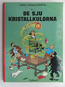 Tintin 03 De sju kristallkulorna 8:e uppl.