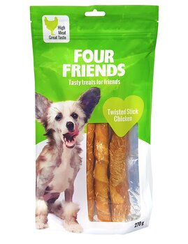 FourFriends Twisted Stick Chicken 25cm