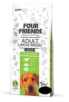 FourFriends,  Adult Large Breed 12+3 kg