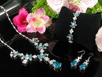 Smycken Blå Glamour