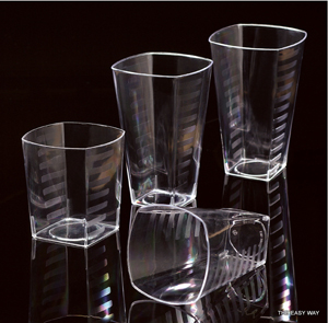 Tumblers. 14 pieces.
