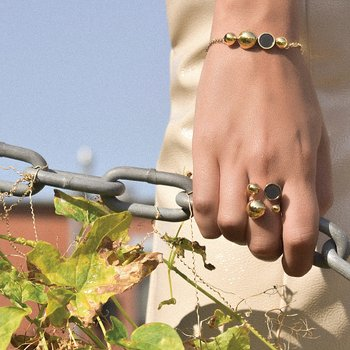 Solar Golden Ring - Back in stock!