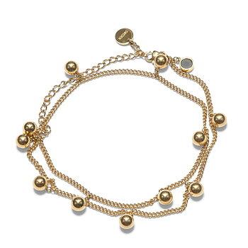 Solar Golden Charm Necklace