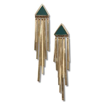Stardust Golden Earrings - Temporary out of stock