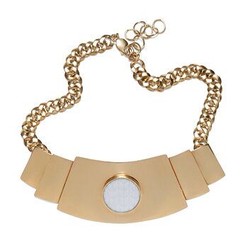 Modernista Golden Zenit Necklace