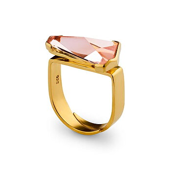 Prisma Blush Golden Gala Ring