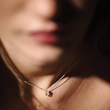 Prisma Blush Golden Necklace