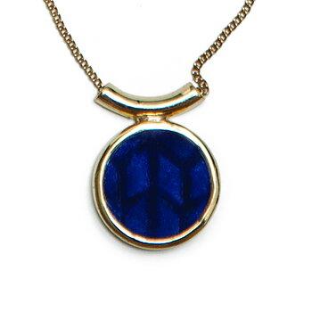 Swedish Grace Golden Midnatt Necklace - Ytterligare prissänkt