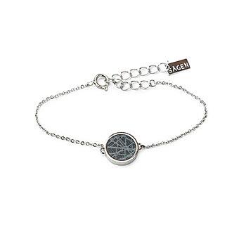 Virrvarr Circle Bracelet - Reversible bracelet