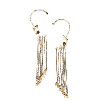 Moon Golden Statement Earrings