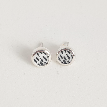 Graphic stripes Earrings  - Finns ett fåtal