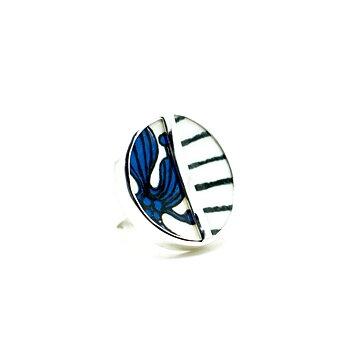 Blå Aster / Spisa Ribb 1. Sample Ring - Finns ett fåtal