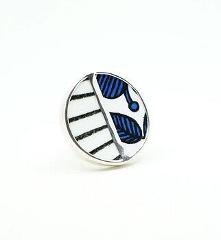 Blå Aster / Spisa Ribb 3. Sample Ring - Finns ett fåtal