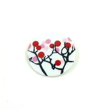 Cherry Branch Brooch - Nyhet, finns nga få i lager!