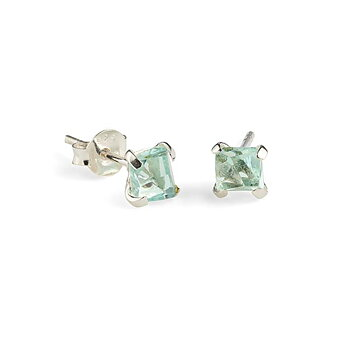 Prisma Aqua Earrings