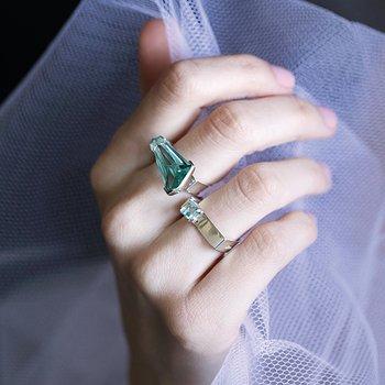 Prisma Aqua Gala Ring