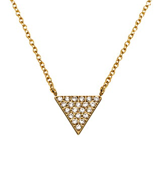 EDBLAD -Mountain Necklace Long Gold