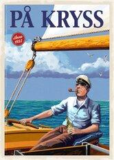 På Kryss Poster 50x70 cm