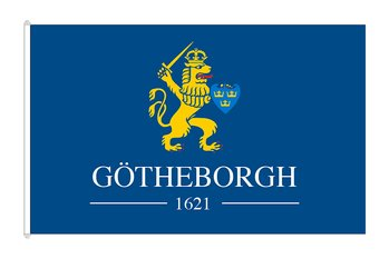 Gothenburg 400 years flag