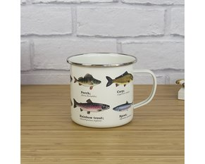 Fish Enamel Mug 500 ml