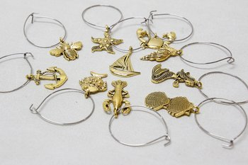 Wine Glass Charms  - 10 pices