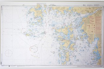 Vinga-Gothenburg Chart 77x112 cm