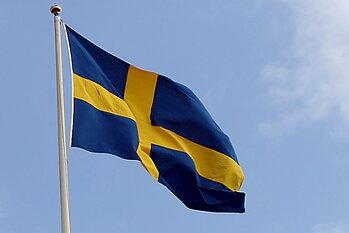 240 cm flag Sweden