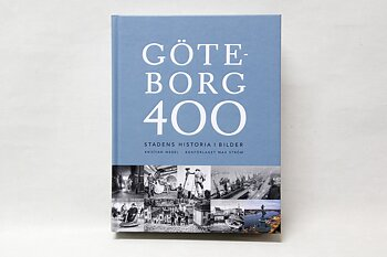 Gothenburg 400 years Book 29x22 cm