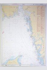 Skagerrak Chart 112x77 cm