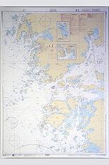 Marstrand Sjökort 112x77 cm