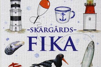 Skärgårds Fika Dishcloth 20x17 cm