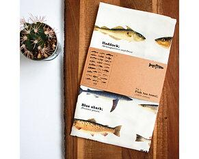 Apron Fish 90x64 cm