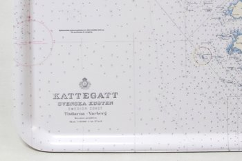 Tray Tistlarna - Varberg Chart 48x37 cm