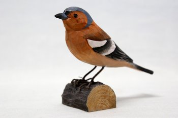 Chaffinch Wood 13x9x5 cm