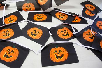 Halloween Bunting 15x22 cm