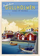 Gullholmen Poster 50x70 cm