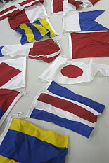 40 cm Code Flag Set 40 pieces on line