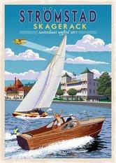 Strömstad Poster 50x70 cm