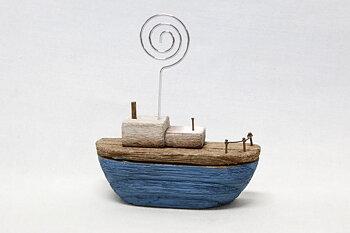 Korthållare båt 10x10 cm