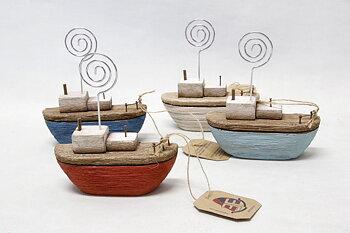 Card Holder boat 10x10 cm
